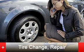 One or more flat tires?